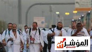 صورة رحيل الفوج الاول لحجاج غزة الى مكة المكرمة