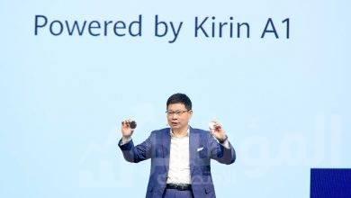 """صورة """" هواوي """" تطلق FreeBuds 3 أول سماعة لاسلكية مدعمة برقاقة معالج Kirin A1 وبنظام تشغيل LiteOS"""
