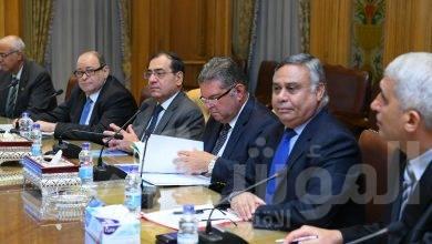"""صورة اللجنة الوزارية للإنتاج"""" تجتمع لمناقشة سياسات وخطط التنمية للحكومة"""