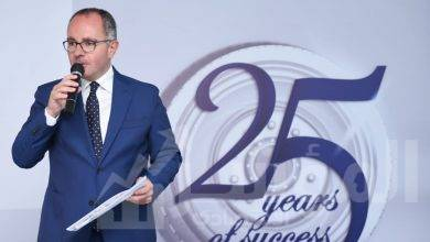 """صورة """" بروميتيون """" للإطارات إيجيبت تحتفل بالعيد الخامس والعشرين لأول إنتاجها من الإطارات بمصنع الإسكندرية"""