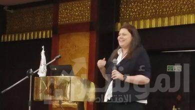 صورة سالي رضوان : أن وزارة الاتصالات  تعكف على رسم استراتيجية مصر للذكاء الاصطناعي