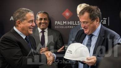 """صورة بدء أعمال البناء بمشروع """"باديا"""".. و""""بالم هيلز"""" توقع شراكة مع """"JBI"""" الألمانية للإشراف على تنفيذ المدينة"""