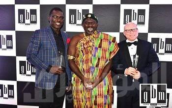 """صورة """" سيث أنساه أوبيري""""  من يونايتد بانشن تراستيز يحصل على جائزة أفضل رئيس تنفيذي في قطاع صناديق المعاشات التقاعديّة (غانا)"""