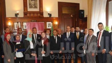 صورة رئيس بنك مصر يكرم  الفائزين في المسابقة البحثية التاسعة للمعهد المصرفي المصري