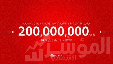 صورة هواوي تشحن 200 مليون هاتف ذكي في وقت قياسي في عام 2019