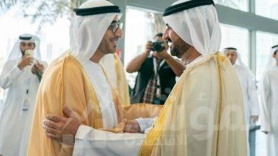 صورة عبد الله بن سالم القاسمي يشهد انطلاق أعمال الدورة السادسة لمؤتمر الموارد البشرية وسوق العمل