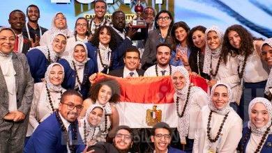 """صورة فريق جامعة القاهرة يفوز ببطولة كأس العالم لـ """"إيناكتس"""" ٢٠١٩"""