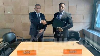 صورة رئيس البريد المصري يلتقي رئيس البريد الجامبي ويوقع اتفاق تعاون في مجال التجارة الالكتروني