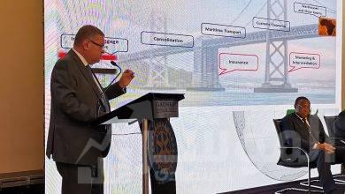 """صورة وزير قطاع الأعمال العام: انطلاق أولى رحلات الخط الملاحي """"السخنة – مومباسا"""" 14 أكتوبر الجاري"""