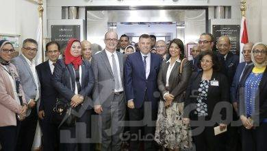 """صورة """" البنك الأهلي المصري """"  يفتتح أعمال تطوير جديدة بمستشفى الدمرداش"""