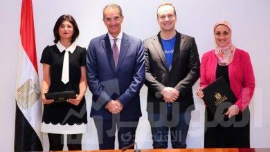 """صورة """" طلعت """"يشهد توقيع اتفاقية بين """"ايتيدا"""" وشركة أنديلا العالمية لدعم عمليات الشركة في مصر"""