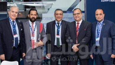 صورة نجاح جديد لقطاع الطيران المدني المصري في معرض دبي الدولي للطيران ٢٠١٩