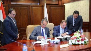 صورة النائب العام ووزير الاتصالاتيوقعان بروتوكول تعاون مشترك