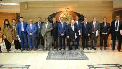 """صورة """"وزير الاتصالات """"  يجتمع بأعضاء لجنة حماية حقوق المستخدمين في أول اجتماع لها بالتشكيل الجديد"""