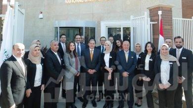 """صورة """" البنك الأهلي المصري""""  يفتتح أحدث فرعه """" نيو جيزة """""""