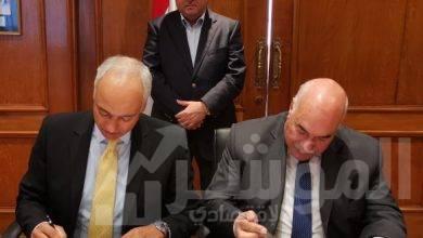 """صورة """" توفيق """"  يشهد توقيع عقد إعادة الهيكلة المالية  ودمج شركات """"القابضة للقطن والغزل والنسيج"""""""