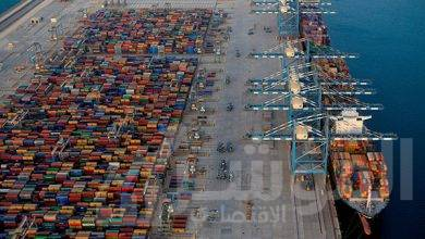 """صورة """" موانئ أبوظبي """" ناولت أكثر من 20 مليون طنّ من البضائع العامة في جميع موانئها خلال أقل من عام"""