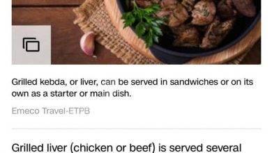 صورة  CNN تختار أطباق ستوديو مصر من أفضل مطاعم الشرق الأوسط