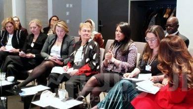 صورة وزيرة التعاون الدولى فى منتدى دافوس: نعمل على تحقيق الهدف الخامس من اهداف التنمية المستدامة بتحقيق المساواة بين الجنسين