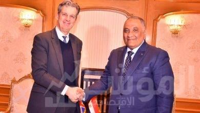 صورة زيارة سفير المملكة المتحدة والوفد المرافق له لهيئة الرقابة الادارية