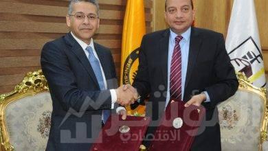 صورة بنك مصر يوقع بروتوكول لتطوير ودعم الكفاءات من طلاب وخريجي  جامعة بني سويف بالتعاون مع الجامعة