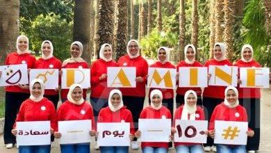 """صورة استطلاع رأي يجريه طلاب """"إعلام القاهرة"""" …. ضمن حملة """"دوبامين """""""