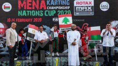 صورة فريق مصر الدولى للكارتينج يحصد المركز الثانى ببطولة الشرق الأوسط للكارتينج بسلطنة عمان