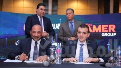 """صورة """"المصرية للاتصالات"""" توقع اتفاقيتي تعاون لتقديم خدمات الاتصالات المتكاملة لمشروعات """"عامر جروب"""" و""""بورتو جروب"""""""