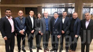 """صورة """" بيجو تكنولوجي"""" تستعرض على السفير السنغافوري فرص الأعمال الواعدة في مصر"""