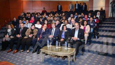 صورة وزير الاتصالات وتكنولوجيا المعلومات  يشهد فعاليات الحفل الختامي لهاكاثون المدن المتاحة للأشخاص ذوي الاعاقة