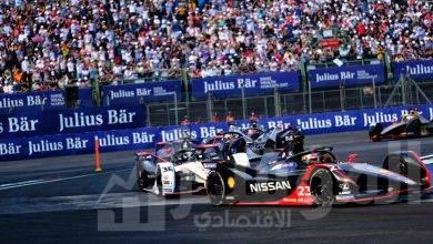 """صورة فريق نيسان """"e.dams"""" يحقق مراكز متقدمة في سباقات Formula E"""
