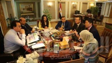 صورة وزير التعليم العالى يستقبل الرئيس التنفيذى لشركة هواوى