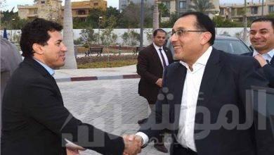 صورة رئيس الوزراء يفتتح فرع نادي الجزيرة بمدينة السادس من أكتوبر
