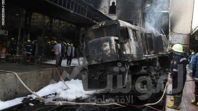 صورة عاجل : نقل المصابين في حادث قطار امبابة