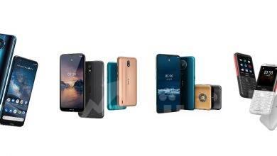 صورة هاتف ذكى جديد بتكنولوجيا الجيل الخامس يتصدر اصدارات هواتف نوكيا الذكيه الجديده