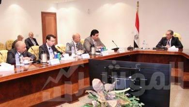 """صورة """" طلعت """" يجتمع مع رؤساء الشركات الأربعة مقدمى خدمات الاتصالات بمصر لدعم العملية التعليمية"""