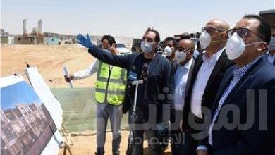صورة رئيس الوزراء يتفقد منطقة الأبراج المركزية والحى السكنى الخامس بالعاصمة الإدارية الجديدة