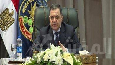 """صورة وزير الداخلية"""" يهنئ وزير القوى العاملة  بمناسبة الإحتفال السنوى بعيد العمال"""