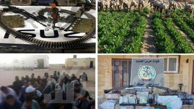 صورة قوات حرس الحدود تواصل جهودها على كافة الإتجاهات الإستراتيجية للدولة ..