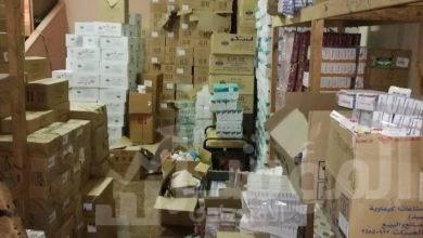 صورة حملات الرقابة الإدارية، تضبط مصنع أدوية مغشوشة يديره فنى تبريد وتكيف بكفر الشيخ