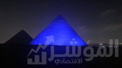 صورة عرض أول تاريخي من الأهرامات وبث حي للعالم من جميع وسائل الإعلام الدوليه