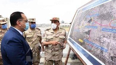 صورة رئيس الوزراء يتفقد أعمال مشروع تطوير بحيـرة عين الصيرة والمناطق المحيطة