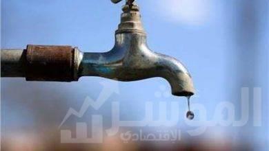 صورة قطع المياه عن أحياء جنوب والطالبيه والعمرانية والهرم وبولاق الدكرور لمده 8 ساعات