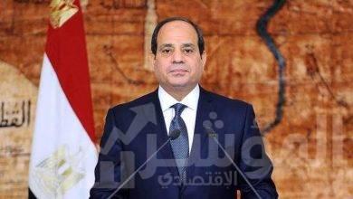 """صورة الرئيس """" السيسي """"يتقدم بالتهنئة للرئيس العراقي على تكليف """" الكاظمي """" بتشكيل الحكومة"""