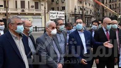 صورة رئيس الوزراء يُتابع من الموقع الموقف النهائي لأعمال تطوير ميدان التحرير