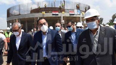 صورة رئيس الوزراء يتفقد الأعمال الإنشائية لمحطة مياه المنشأة الكبرى بكفر شكر بالقليوبية