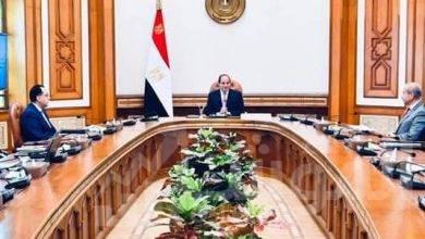 صورة الرئيس يوجه بمواصلة جهود التنمية بمفهومها الشامل في شبه جزيرة سيناء