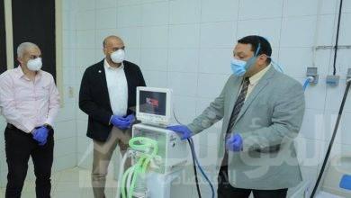 صورة موانئ دبي العالمية – السخنة تتبرع بجهازي تنفس صناعي لمستشفى السويس العام