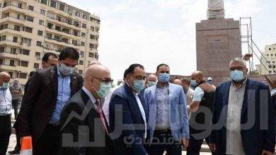 صورة رئيس الوزراء يتفقد الأعمال النهائية لمشروع تطوير ميدان التحرير
