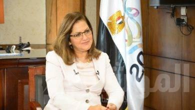 صورة وزيرة التخطيط تشارك في حوارات قمة صوت مصر